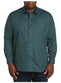 Twenty-Eight Degrees Diamond-Print Sport Shirt