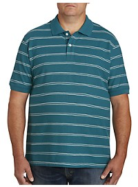 Harbor Bay Double Stripe Polo