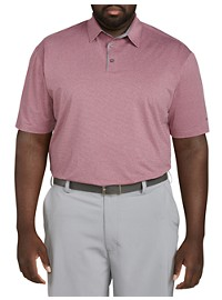 Reebok Textured Stripe Polo Shirt