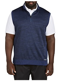 Reebok Mélange 1/4-Zip Fleece Vest