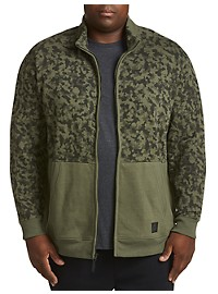 Reebok Stretch Camo Fleece Jacket