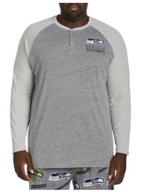 NFL Colorblock Henley Shirt