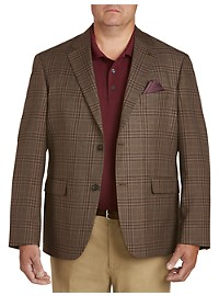 Oak Hill Textured Plaid Sport Coat