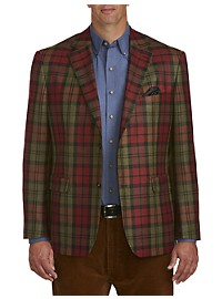 Oak Hill Exploded Plaid Sport Coat