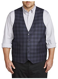 Oak Hill Reversible Plaid Vest