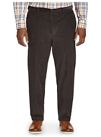 Oak Hill Straight-Fit Stretch Corduroy Pants