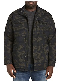 Synrgy Four-Pocket Camo Jacket