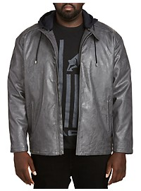 Synrgy Faux Leather Jacket
