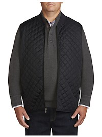 Oak Hill Diamond Quilt-Front Vest