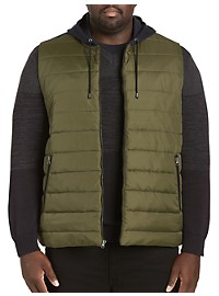 Synrgy Quilted Front Hooded Vest
