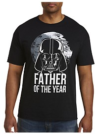 Star Wars Darth Vader Father of the Year Graphic Tee