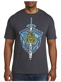 Legend of Zelda Iconic Weapon Graphic Tee