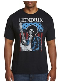 Jimi Hendrix American Player Graphic Tee