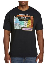 Star Wars Periodic Table Graphic Tee