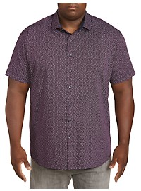 Twenty-Eight Degrees Paisley Print Sport Shirt