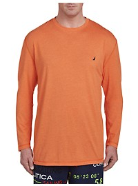 Nautica Long-Sleeve Solid Tee