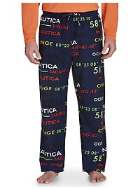 Nautica All-Over Logo Lounge Pants