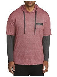 PX Clothing 2-in-1 Hooded T-Shirt