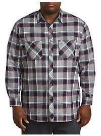 PX Clothing Flannel Plaid Sport Shirt