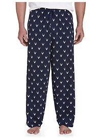 Harbor Bay Antlers Print Lounge Pants