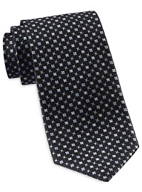 Rochester Designed in Italy Mini Medallion Neat Tie