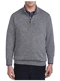 Oak Hill Marled 1/4-Zip Pullover