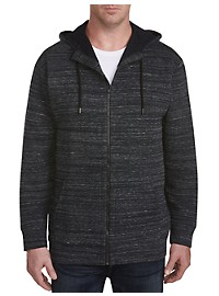 Twenty-Eight Degrees Textured Full-Zip Hoodie