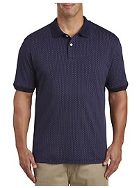 Harbor Bay Square Print Polo Shirt
