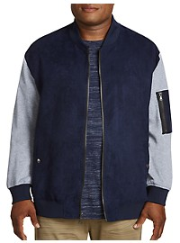 PX Clothing Varsity Bomber Jacket