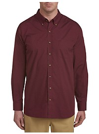 Harbor Bay Dot Print Sport Shirt