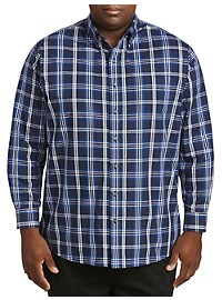 Harbor Bay Large Plaid Sport Shirt