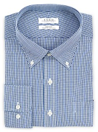 Enro Combs Check Dress Shirt