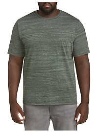 Harbor Bay Short-Sleeve Space Dye T-Shirt