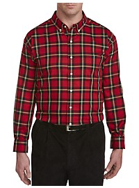 Oak Hill Plaid Sport Shirt
