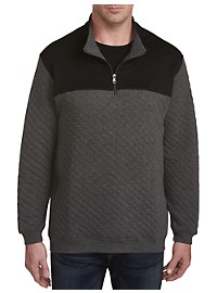 Rochester Quilted Quarter-Zip Pullover