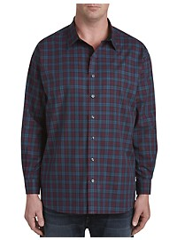 Synrgy Multi Medium Plaid Sport Shirt