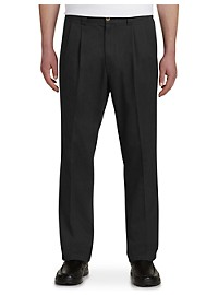 Harbor Bay Waist-Relaxer Pleated Pants – Unhemmed