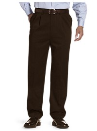 Oak Hill Waist-Relaxer Premium Pleated Pants – Unhemmed