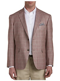 Oak Hill Jacket-Relaxer Windowpane Sport Coat