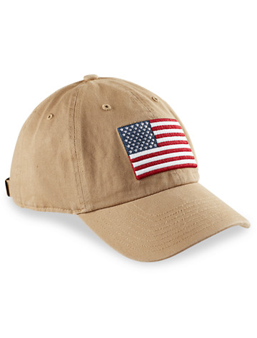 <p>Show your pride while doing your part to help service members and vets with this embroidered flag hat. '47 Brand has connected with Operation Hat Trick (OHT) to help those recovering from unthinkable injuries.</p><p>&#8226; 100% cotton <br/>&#8226; Embroidered American flag on front<br/>&#8226; OHT embroidery on right side<br/>&#8226; Self-fabric strap<br/>&#8226; Purchase of OHT items supports wounded service members and veterans<br/>&#8226; Spot clean; imported</p>