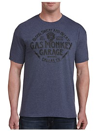 Gas Monkey Steel The Show Graphic Tee