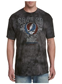 Grateful Dead Music Tie-Dye Graphic Tee