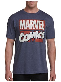 Marvel Comics Retro Logo Graphic Tee