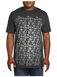 Wall O' Skulls Graphic Tee