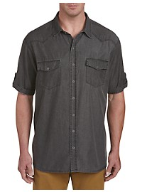 Society of One Western Denim Shirt