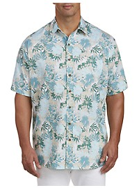 Harbor Bay Foral Sport Shirt
