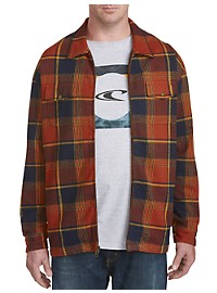 O'Neill Lodge Plaid Flannel Jacket