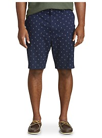 Oak Hill Stretch Waist Relaxer Palm Tree Shorts