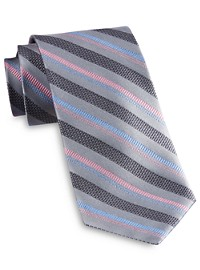 Rochester Designed in Italy Textured Stripe Tie