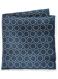 Rochester Large Dot Pocket Square